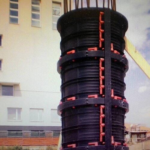 Круглые колонны