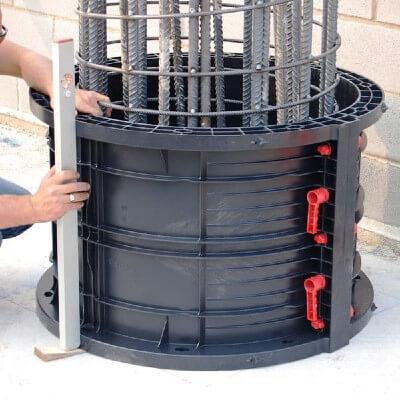 пластиковая опалубка круглой колонны цена