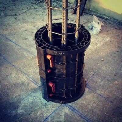 пластиковая опалубка круглой колонны купить