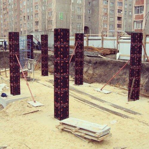 Квадратные колонны