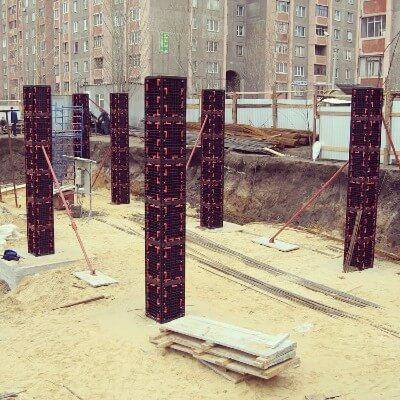 пластиковая опалубка квадратной колонны купить