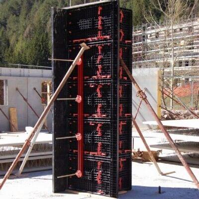 универсальная пластиковая опалубка колонн